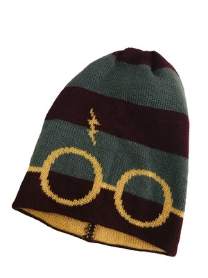 Harry Potter Glasses and Lightning Bolt Beanie Culturefly Exclusive