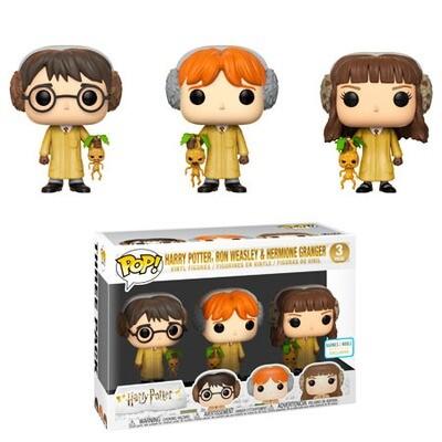 Harry Potter, Ron Weasley, & Hermione Granger (Herbology) Harry Potter Funko Pop 3-Pack Barnes & Noble Exclusive
