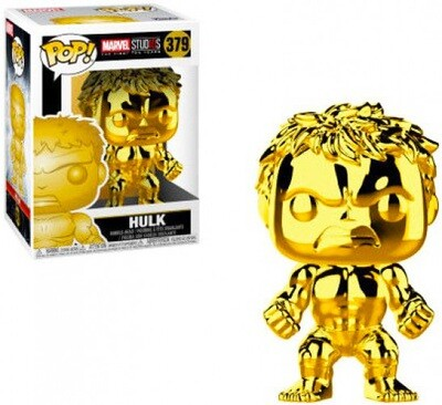 Hulk (Gold Chrome) Marvel Studios the First Ten Years Marvel Funko Pop 379