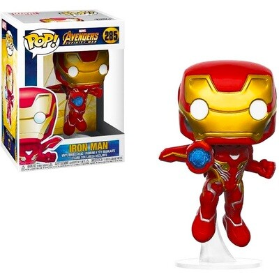 Iron Man Marvel Avengers Infinity War Funko Pop 285