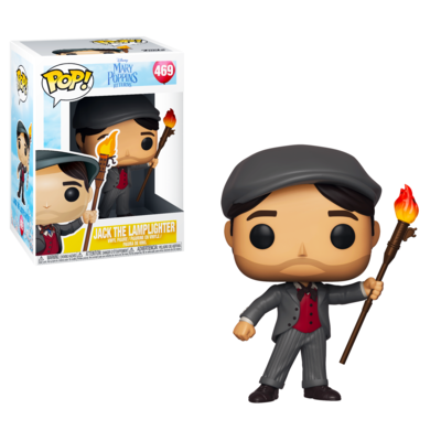 Jack the Lamplighter Mary Poppins Returns Disney Funko Pop 469