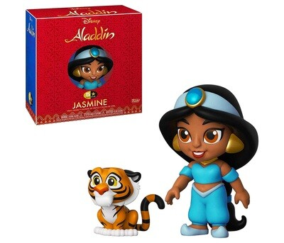 Jasmine with Rajah Disney Aladdin Funko 5-Star Figure