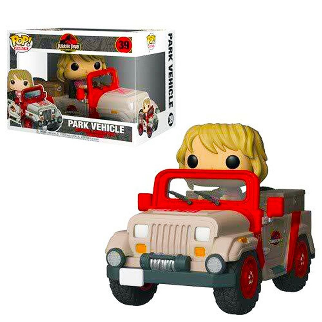 Jeep Park Vehicle Jurassic Park 25th Anniversary Funko Pop Rides 39