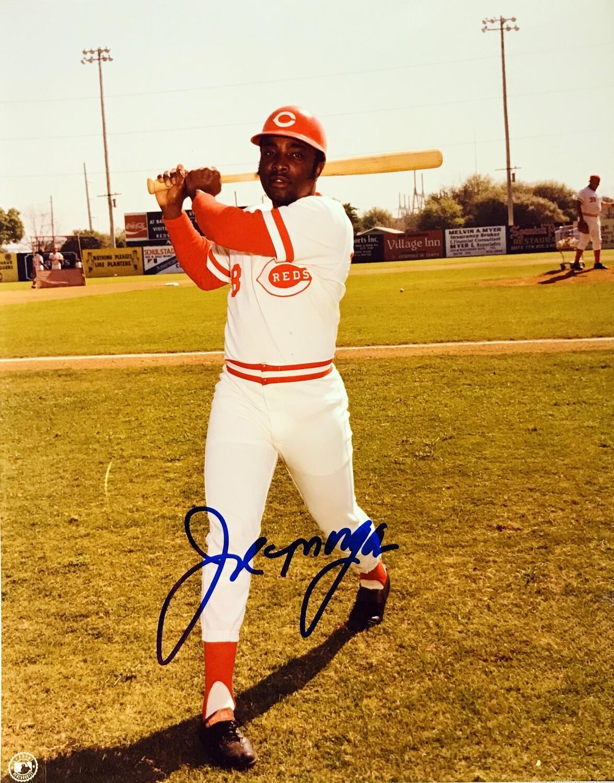Joe Morgan Cincinnati Reds MLB Autographed 8x10 Photo (w/ Certificate of Authenticity)