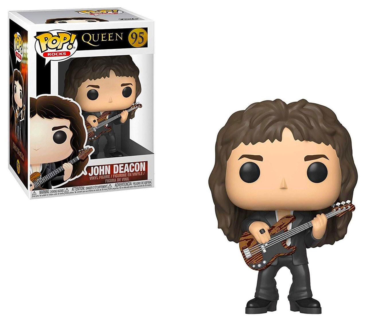 John Deacon Queen Funko Pop Rocks 95