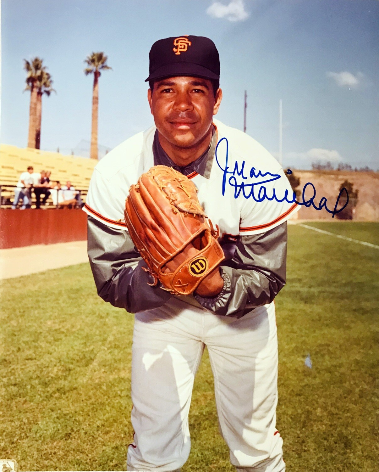 Juan Marichal San Francisco Giants MLB Autographed 8x10 Photo (w/ Certificate of Authenticity)