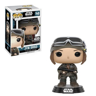 Jyn Erso (Mountain Gear) Star Wars Rogue One Funko Pop 148 Smuggler's Bounty Exclusive