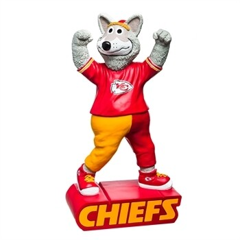 Kansas City Chiefs NFL Team Mascot Statue (PRE-ORDER)