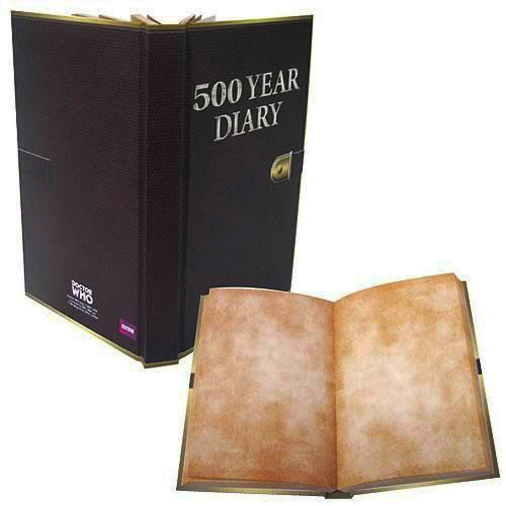 500 Year Diary Doctor Who BBC Mini-Journal