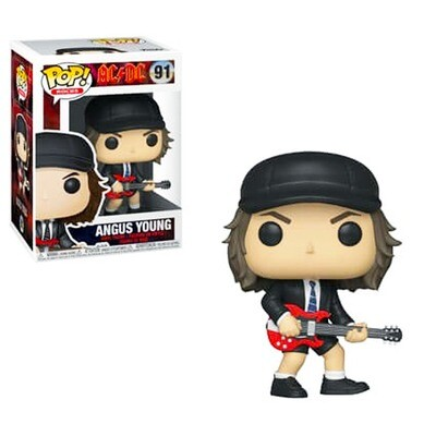 Angus Young AC/DC Funko Pop Rocks 91