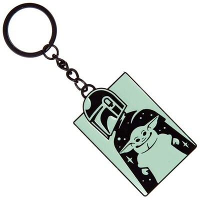 Mando & The Child Star Wars The Mandalorian Key Chain