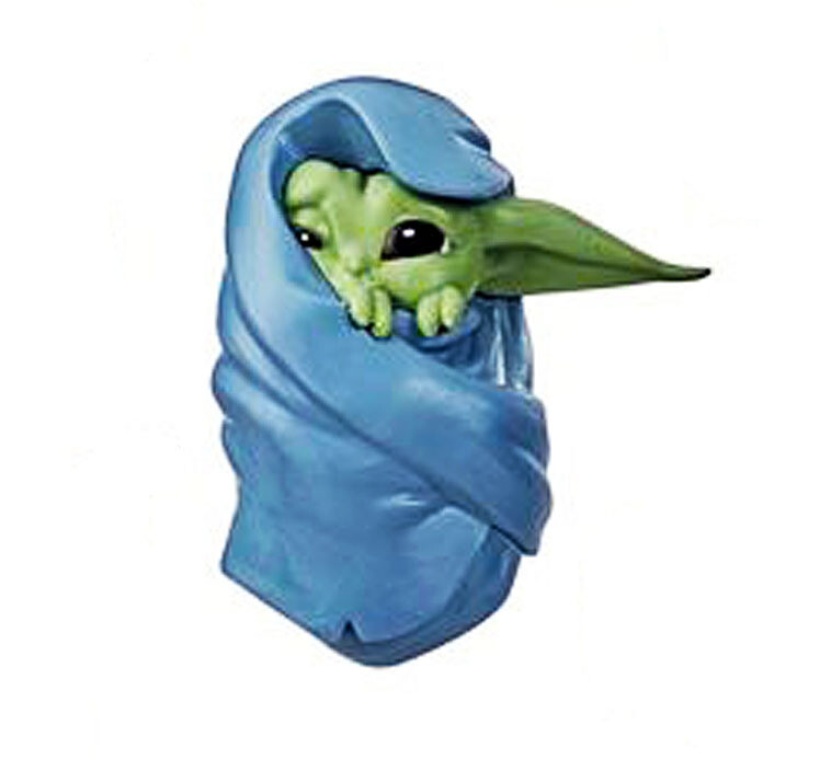 The Child in Blanket Star Wars The Mandalorian Baby Bounties The Bounty Collection Mini-Figure