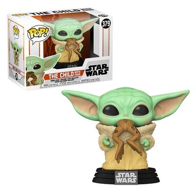 The Child with Frog Star Wars The Mandalorian Funko Pop 379