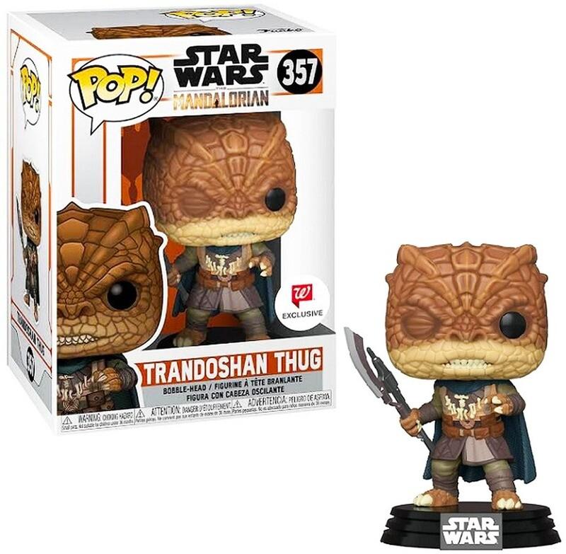 Trandoshan Thug Star Wars The Mandalorian Funko Pop 357 Walgreens Exclusive