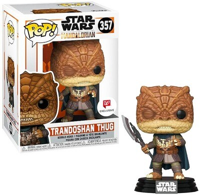 Trandoshan Thug Star Wars The Mandalorian Funko Pop 357 Walgreens Exclusive