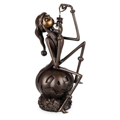 Jack Skellington Nightmare Before Christmas Bronzed Finished Figurine 25th Anniversary Disney Rewards Limited Edition