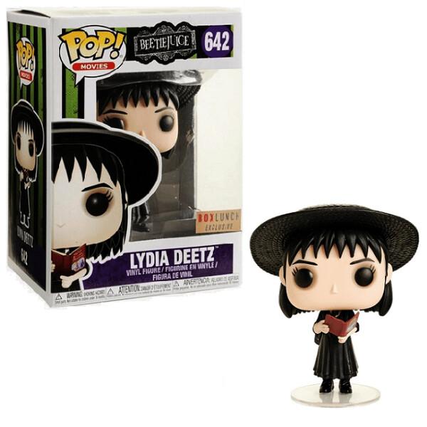 Lydia Deetz (Book) Beetlejuice Funko Pop Movies 642 BoxLunch Exclusive