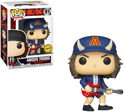 Angus Young (Devil Hat) AC/DC Funko Pop Rocks 91 Chase Limited Edition