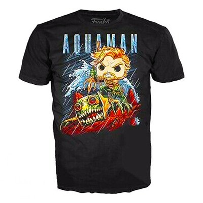 Aquaman Jim Lee DC Collection Funko Pop Tees T-Shirt