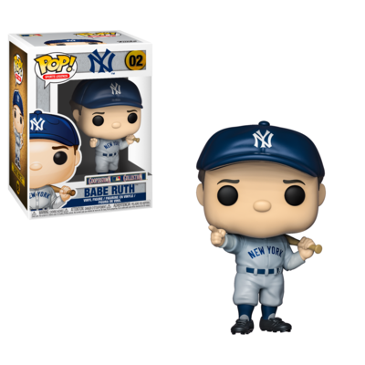 Babe Ruth New York Yankees MLB Funko Pop Sports Legends 02 Cooperstown Collection