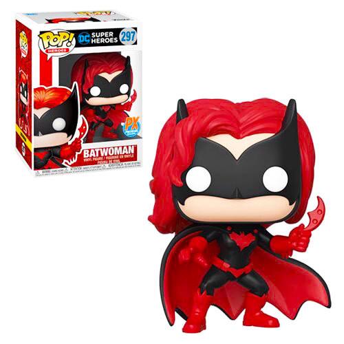 Batwoman DC Super Heroes Funko Pop Heroes 297 Previews Exclusive