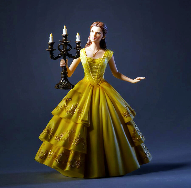 Belle Beauty and the Beast Disney Showcase Live Action Cinematic Moment Figurine by Enesco