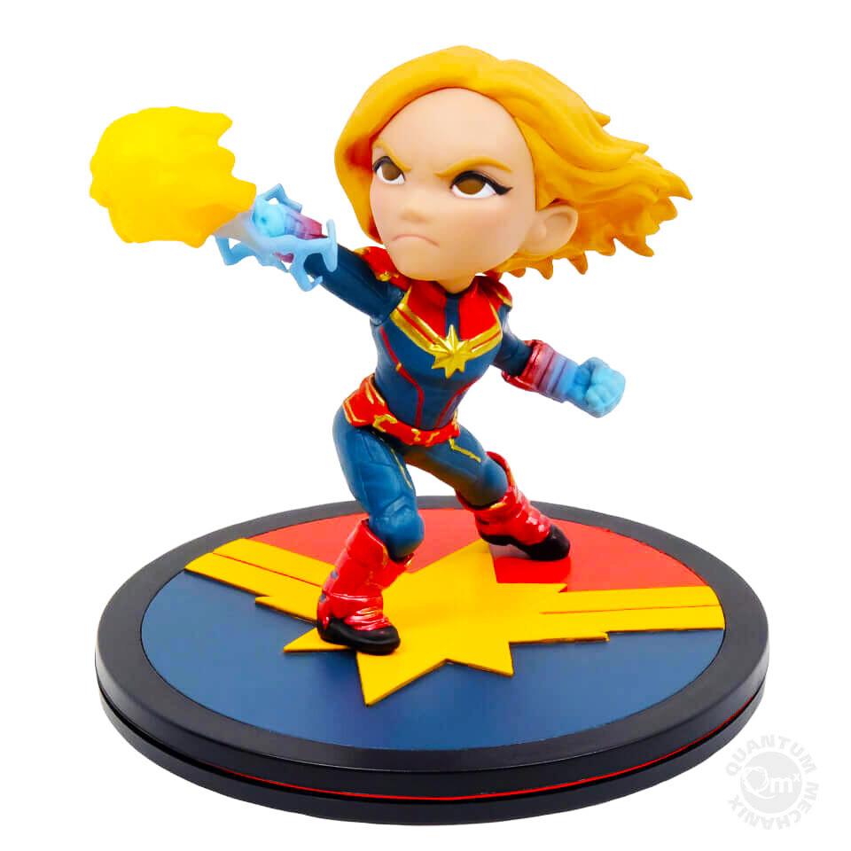 Captain Marvel Marvel Captain Marvel Quantum Mechanix Qmx Q-Fig
