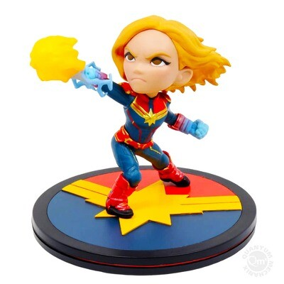 Captain Marvel Marvel Captain Marvel Quantum Mechanix Qmx Q-Fig