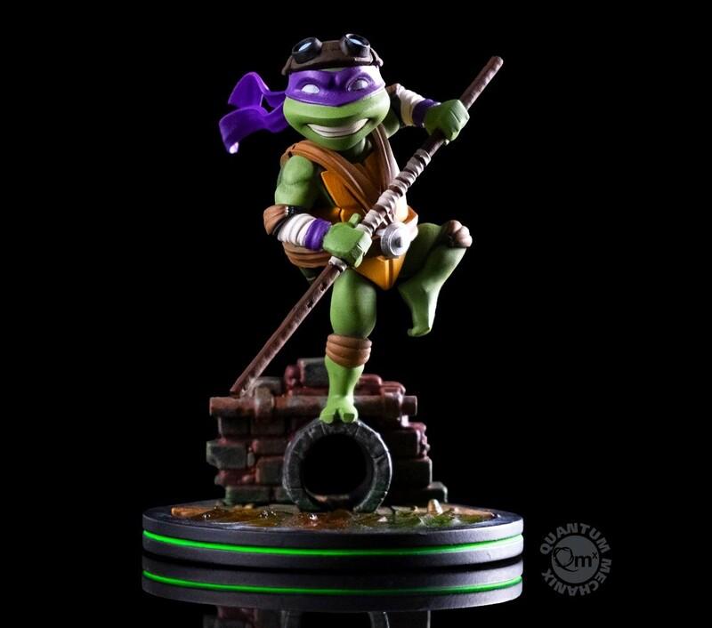 Donatello Teenage Mutant Ninja Turtles Nickelodeon Quantum Mechanix Qmx Q-Fig