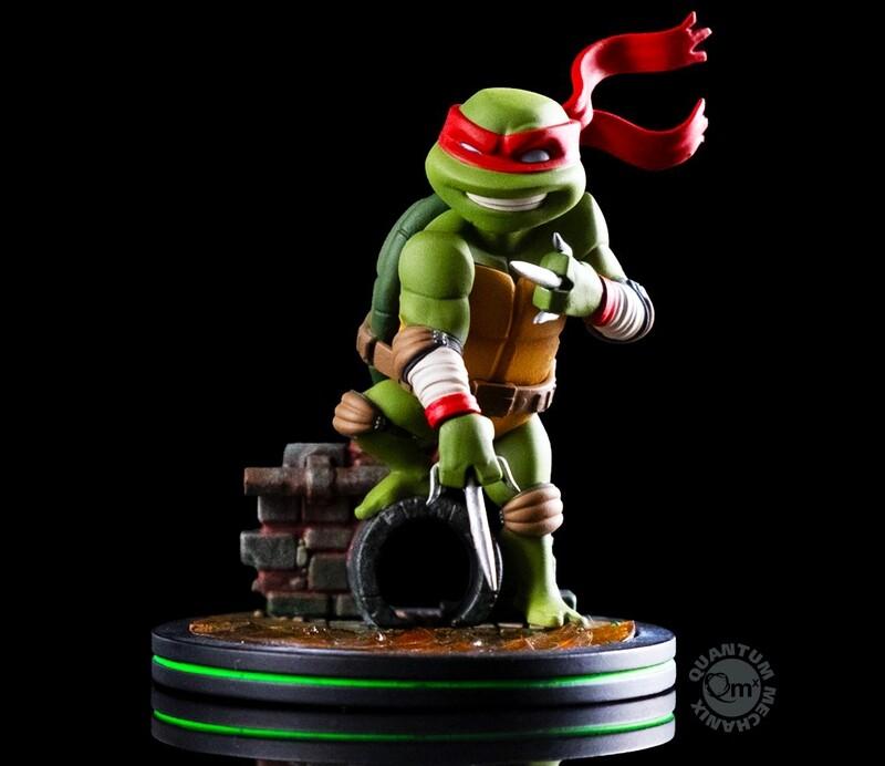 Raphael Teenage Mutant Ninja Turtles Nickelodeon Quantum Mechanix Qmx Q-Fig