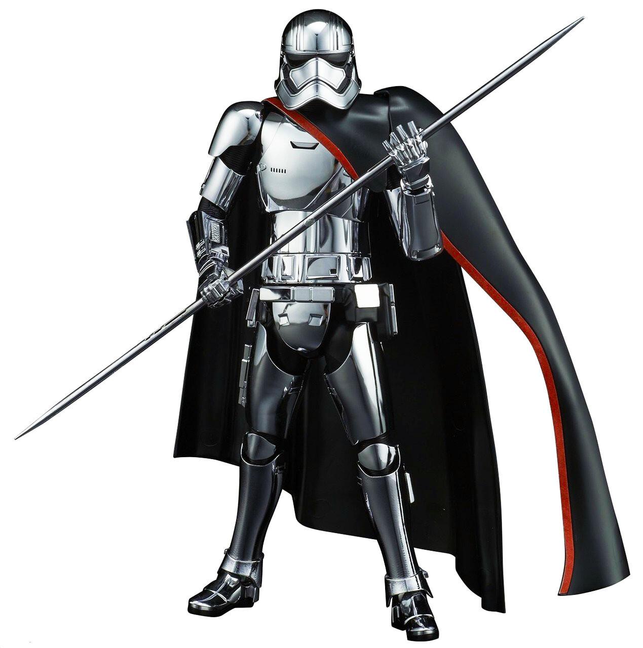 Captain Phasma Star Wars The Last Jedi 1:12 Scale Model Kit Figure