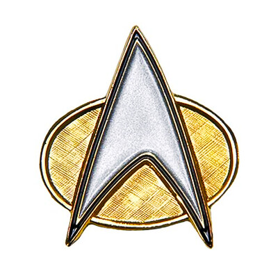 Communicator Combadge Star Trek The Next Generation Enamel Pin