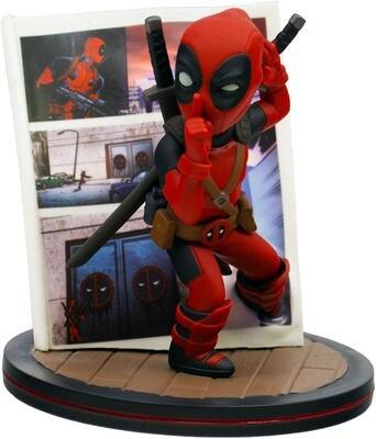 Deadpool 4D Marvel Quantum Mechanix Qmx Q-Fig