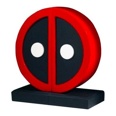 Deadpool Logo Marvel Collectible Bookends