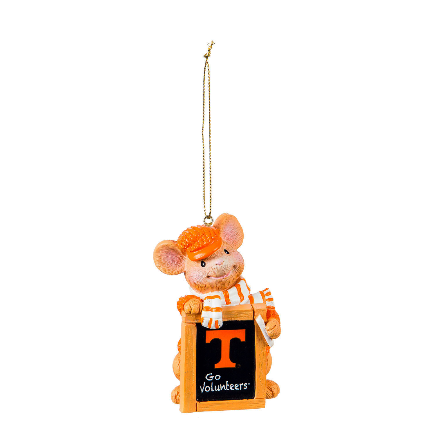 Tennessee Volunteers NCAA Holiday Mouse Christmas Tree Ornament