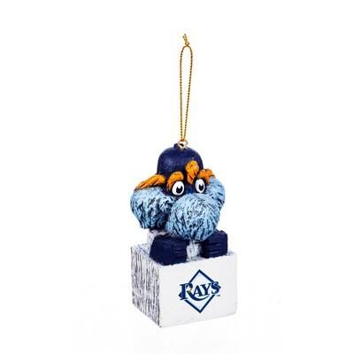 Tampa Bay Rays Mascot MLB Christmas Tree Holiday Ornament