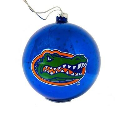 Florida Gators Stargazing Light-Up Glass Ball NCAA Christmas Tree Holiday Ornament
