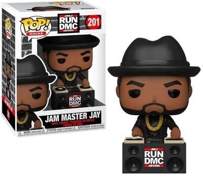 Jam Master Jay (JMJ 4Ever) Run DMC Funko Pop Rocks 201