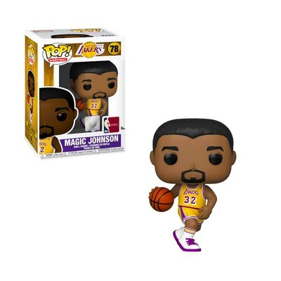 Magic Johnson Los Angeles Lakers NBA Legends Hardwood Classics Funko Pop Basketball 78