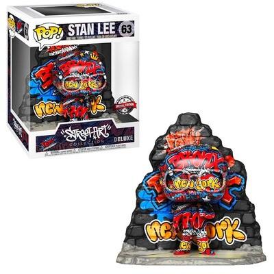 """Stan Lee (Street Art)(Bronx) Marvel Funko """"Street Art Collection"""" Pop Deluxe 63 Gamestop Exclusive"""