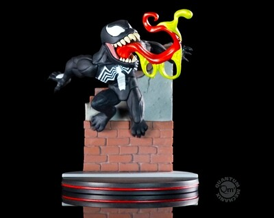Venom Marvel Venom Quantum Mechanix Qmx Q-Fig Diorama