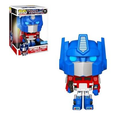 Optimus Prime (10-inch) Transformers Funko Pop Retro Toys 71 Jumbo Walmart Exclusive