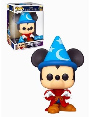 Sorcerer Mickey (10-inch) Fantasia 80 Years Disney Funko Pop 993 Jumbo Walmart Exclusive