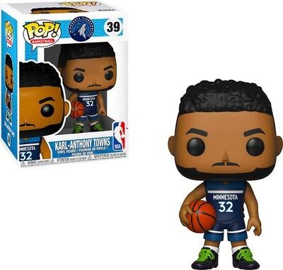 Karl-Anthony Towns (Away Jersey) Minnesota Timberwolves NBA Funko Pop Basketball 39
