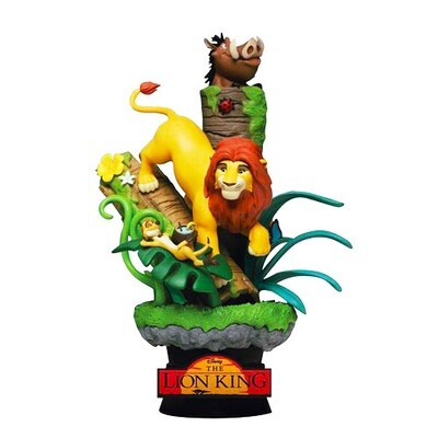 The Lion King Disney Beast Kingdom Disney Classics D-Stage DS-07 6-inch Statue (PRE-ORDER)