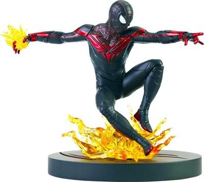 Miles Morales Spider-Man Marvel Diamond Select Marvel Gallery Spider-Man PS5 PVC Diorama Statue (PRE-ORDER)