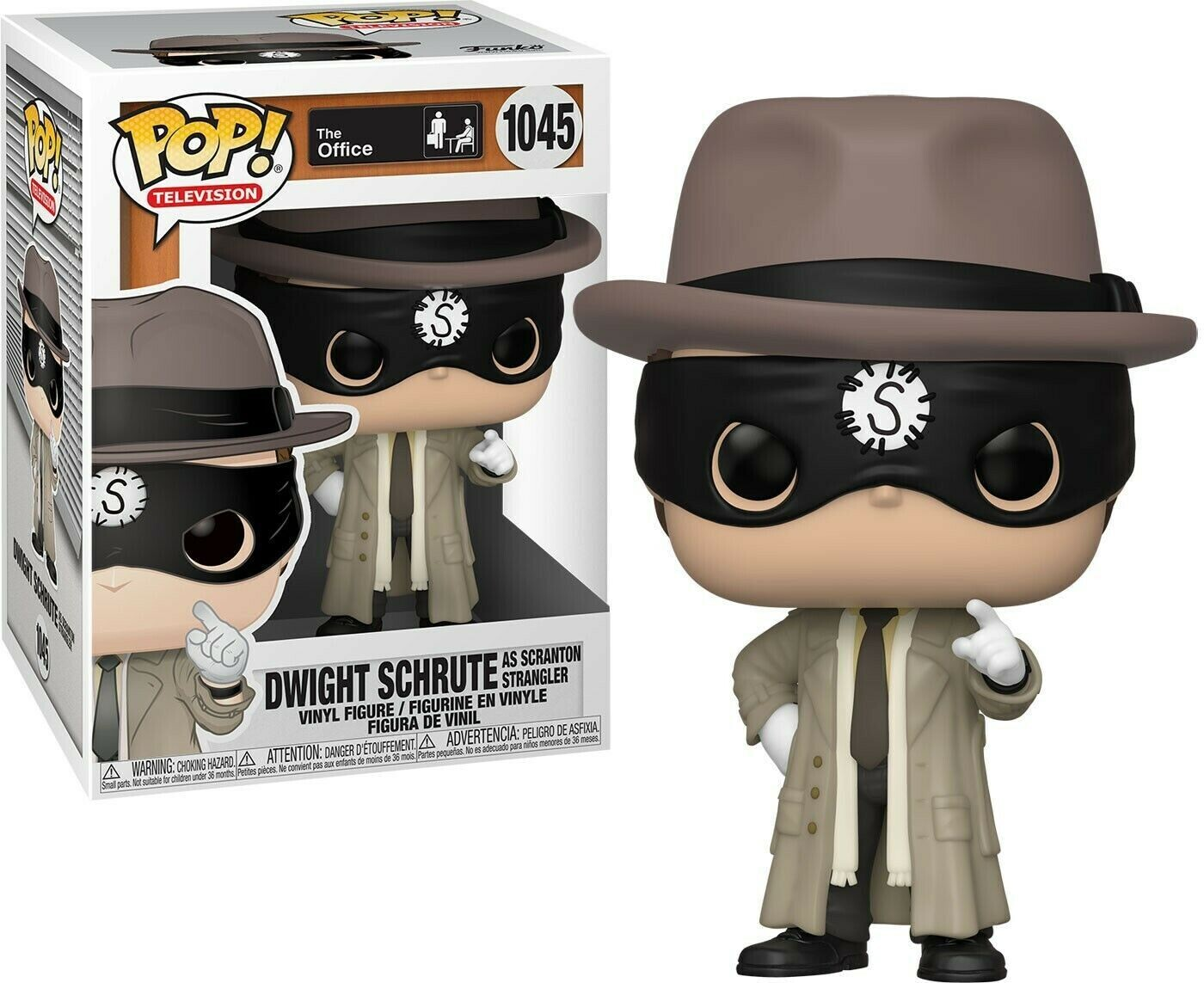 Dwight Schrute (Scranton Strangler) The Office NBC Funko Pop Television 1045
