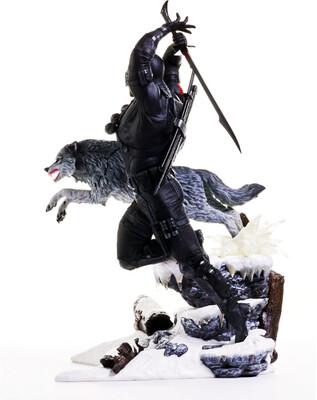Snake Eyes and Timber G.I. Joe Diamond Select PVC Diorama Statue (PRE-ORDER)