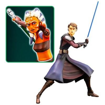 Anakin Skywalker Star Wars: The Clone Wars Kotobukiya ARTFX+ Re-Run 1:10 Scale Statue (PRE-ORDER)