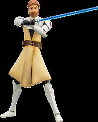 Obi-Wan Kenobi Star Wars: The Clone Wars Kotobukiya ARTFX+ Re-Run 1:10 Scale Statue (PRE-ORDER)